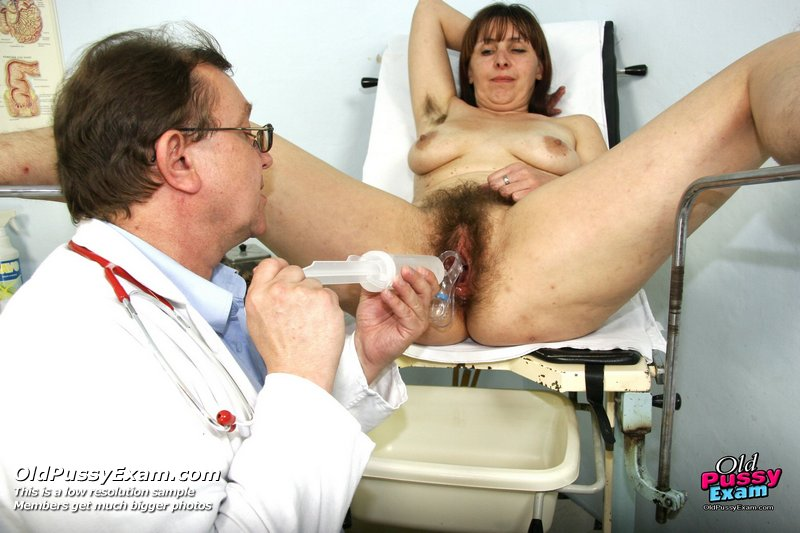 sex gyno exam Mature karin